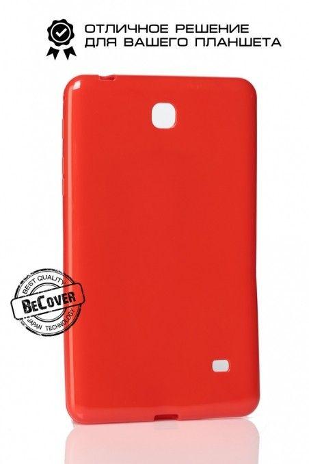 Силиконовый чехол BeCover для Samsung Tab 4 7.0 T230/T231 Red