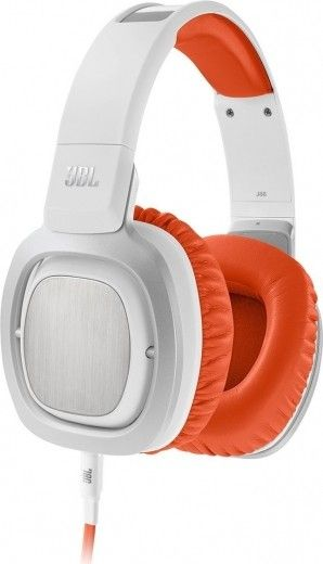 Навушники JBL On-Ear Headphone J88 White/Orange (J88-WOR)