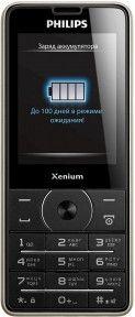 Мобильный телефон Philips X1560 Black
