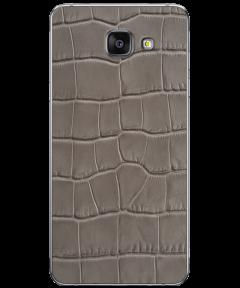 Кожаная наклейка Space Gray Croco для Samsung Galaxy A5 (2016)