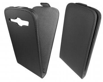 Чехол GlobalCase (Flip) для Samsung I8262 Black