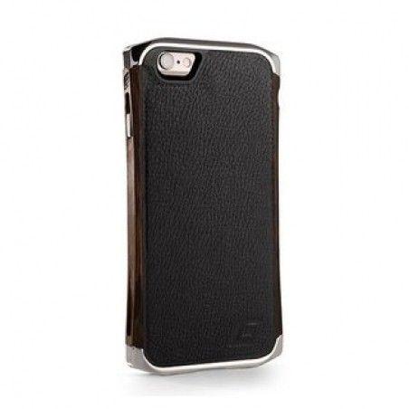 Чехол для iPhone 6/6S Element Case Ronin Ultra Luxe Platinum/Wenge/Black Leather  (EMT-0156)