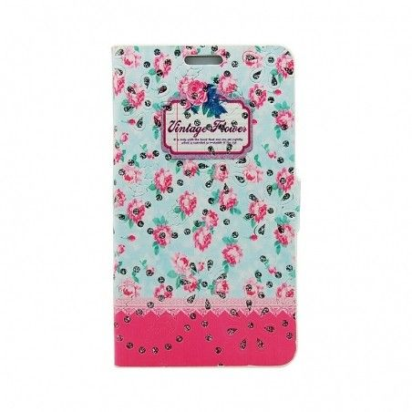 Чехол-книжка Book Cover Cath Kidston with diamonds Lenovo A2010 Pink