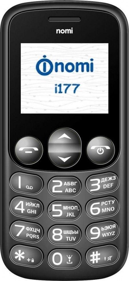 Мобильный телефон Nomi i177 Black