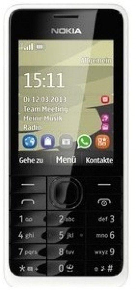 Мобильный телефон Nokia 301 Dual Sim White