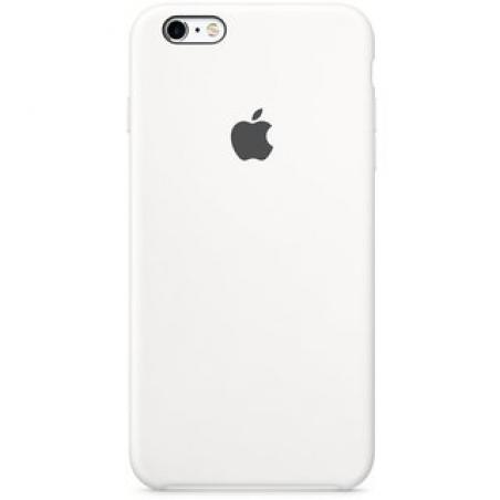 Силиконовый чехол Apple iPhone 6s Plus Silicone Case (MKXK2) White