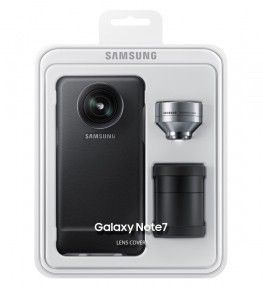Чехол Lens Cover Samsung Note 7 Black (ET-CN930DBEGRU)