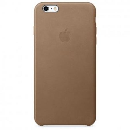 Чехол для Apple iPhone 6s Plus Leather Case Brown (MKX92)