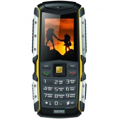 Мобильный телефон Astro A200 RX Black-Yellow