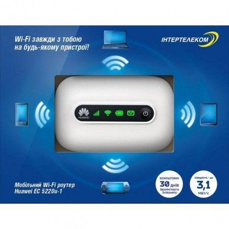 3G Wi-Fi роутер Интертелеком Huawei EC 5220u-1