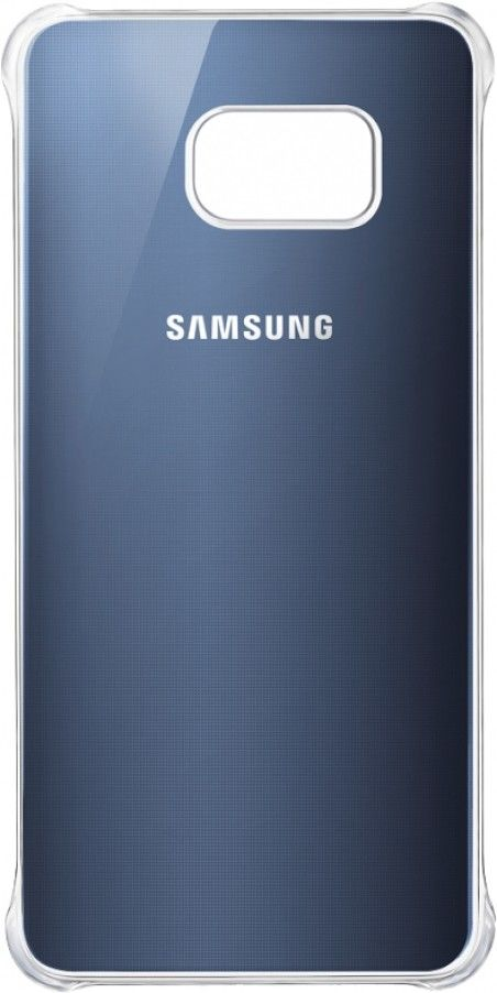 Чехол Samsung Clear Cover-Glossy Cover для Samsung Galaxy S6 edge+ BlueBlack (EF-QG928MBEGRU)