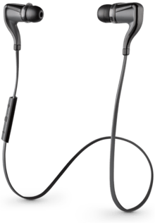 Наушники Plantronics BackBeat Go 2 Black + чехол (200203-05)