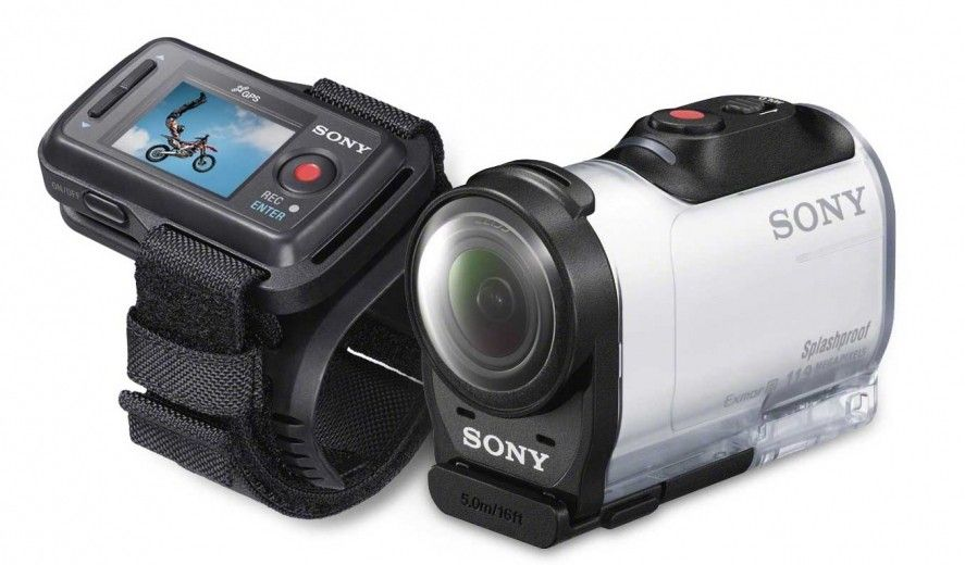 Экшн-камера SONY Action Cam AS200 White (HDR-AS200)