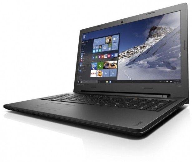 Ноутбук Lenovo IdeaPad 100-15 (80QQ008EUA) Black