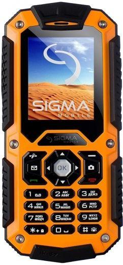 Мобильный телефон Sigma mobile X-treme II67 Dual Sim Black-Orange