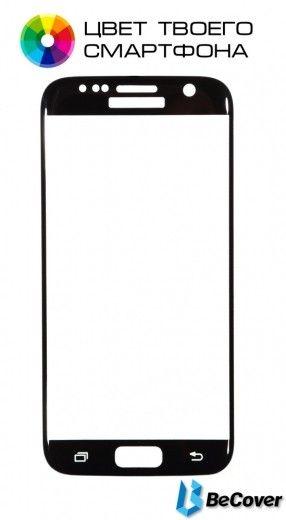 Защитное стекло BeCover для Samsung Galaxy S7 G930/G935 Silver