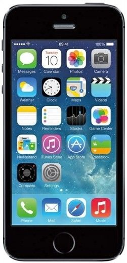 Мобильный телефон Apple iPhone 5S 64GB Space Gray