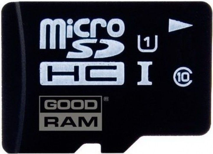 Карта памяти GOODRAM 64 GB microSDXC class 10 UHS1 + SD Adapter (M1AA-0640R11)