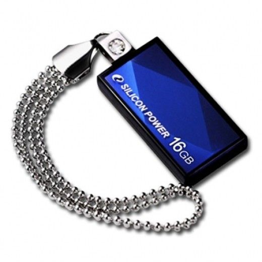 USB флеш накопичувач Silicon Power Touch 810 32GB Blue (SP032GBUF2810V1B)