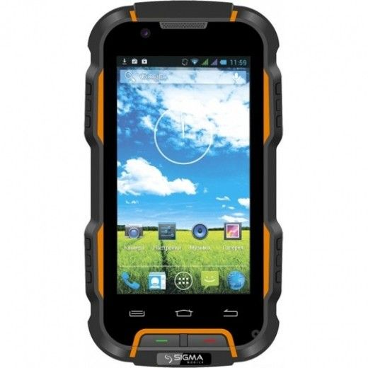 Мобильный телефон Sigma mobile X-treme PQ22A Black-Orange