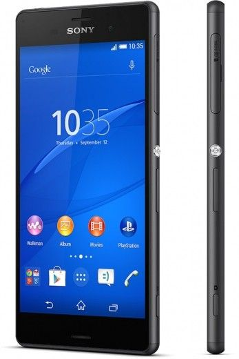 Смартфон Sony Xperia Z3 DS D6633 Black