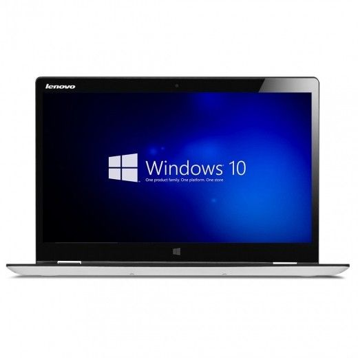 Ноутбук Lenovo Yoga 700-14 (80QD005TUA) White