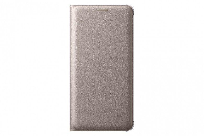 Чехол Samsung Flip Wallet для Galaxy S7 Edge Gold (EF-WG935PFEGRU)