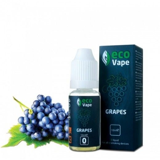 Жидкость для электронных сигарет ECO Vape Grapes 3 мг/мл