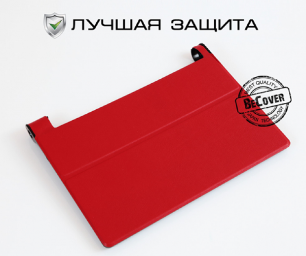 Чехол-книжка BeCover Smart Case для Lenovo Yoga Tablet 3 Pro X90 Red