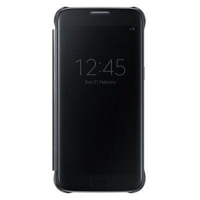 Чехол Samsung Clear View Cover для Samsung Galaxy S7 Edge Black (EF-ZG935CBEGRU)
