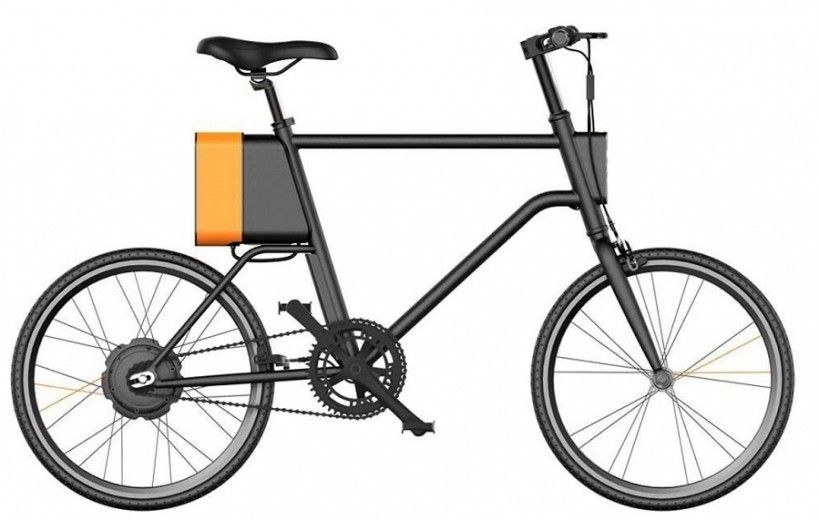 Электровелосипед Xiaomi YunBike C1 Men Black (C1-MEN-BLACK)
