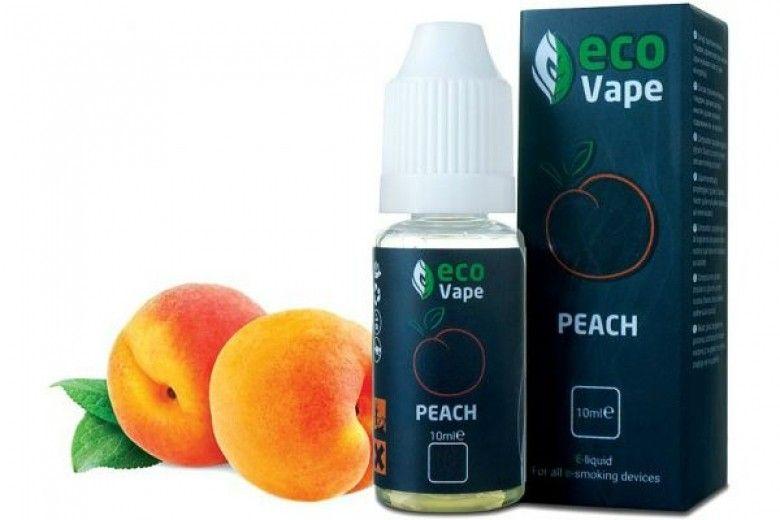 Жидкость для электронных сигарет ECO Vape Peach 9 мг/мл