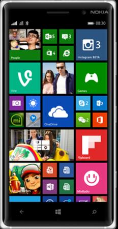 Мобильный телефон Nokia Lumia 830 Black