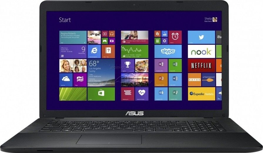 Ноутбук Asus X751LB (X751LB-TY256D) Black