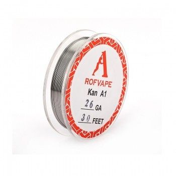 Проволока для спирали Rofvape Stainless Steel Wire 10m (26AGW/0.4mm)