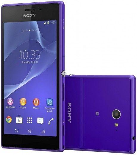 Смартфон Sony Xperia M2 D2305 Purple