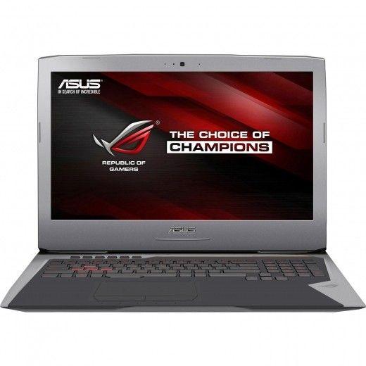 Ноутбук ASUS ROG G752VT Gray (G752VT-GC155R)