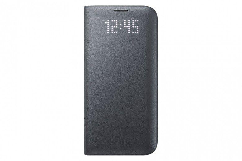 Чехол Samsung LED View для Galaxy S7 Black (EF-NG930PBEGRU)