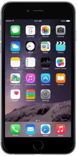 Мобильный телефон Apple iPhone 6 Plus 128GB Space Gray