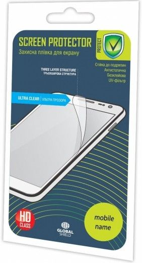 Защитная пленка Global Shield ScreenWard для Lenovo A680 глянцевая (1283126460258)