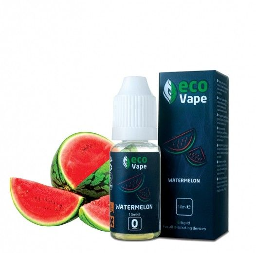 Жидкость для электронных сигарет ECO Vape Watermelon 9 мг/мл