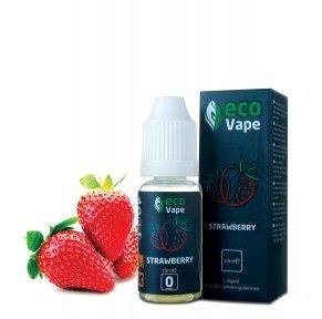 Жидкость для электронных сигарет ECO Vape Strawberries 9 мг/мл