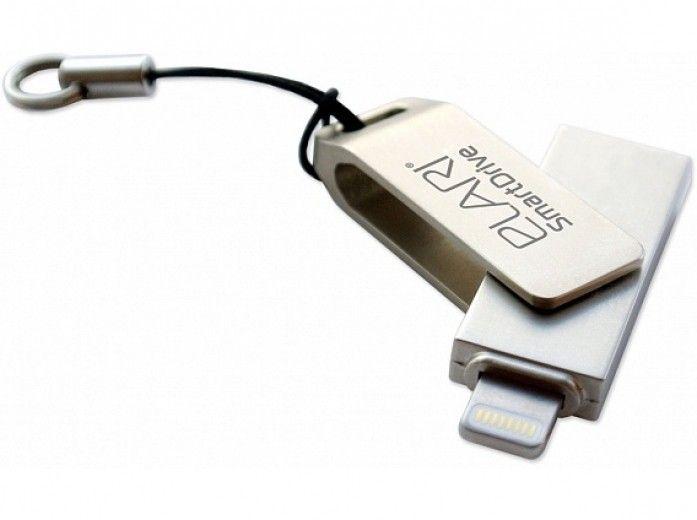 USB флеш-накопитель Elari SmartDrive 128GB (USB/Lightning) Silver (ELSD128GB)