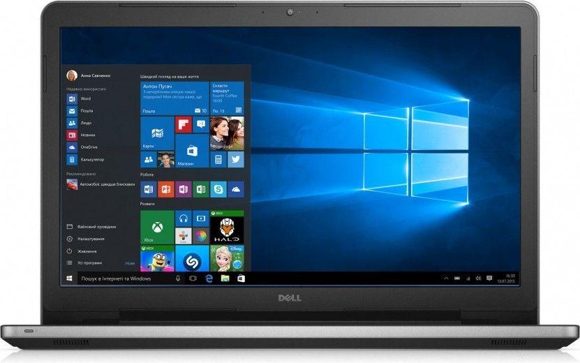 Ноутбук Dell Inspiron 5759 (I575810DDW-46S) Silver