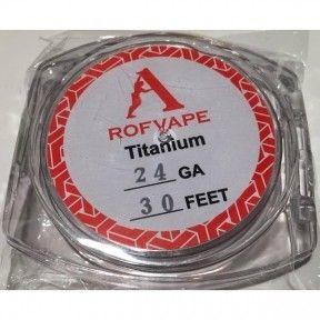 Проволока для спирали Rofvape Kanthal A1 10m (24AGW/0.5 mm)