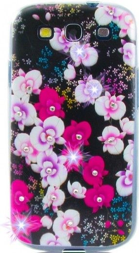 Чехол Diamond Silicone Samsung J700 (J7) Wild Orchid
