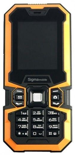 Мобильный телефон Sigma mobile X-treme IZ67 Boat (900mAh + 1700mAh)