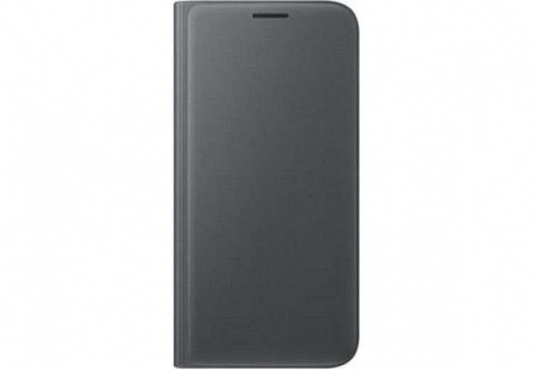 Чехол Samsung Flip Wallet для Galaxy S7 Edge Black (EF-WG935PBEGRU )