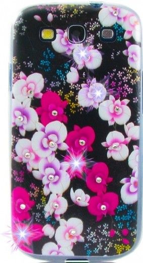 Панель Diamond Silicone Samsung J110 Wild Orchid
