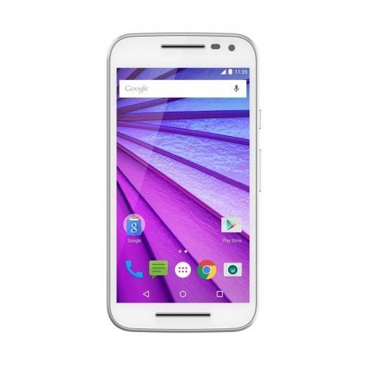 Мобильный телефон Motorola Moto G 16GB (XT1550) White
